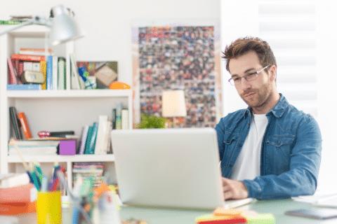 como se manter produtivo em home office