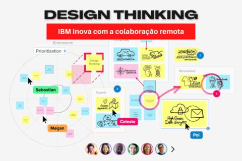 IBM inova com a colaboração remota em processos de Design Thinking